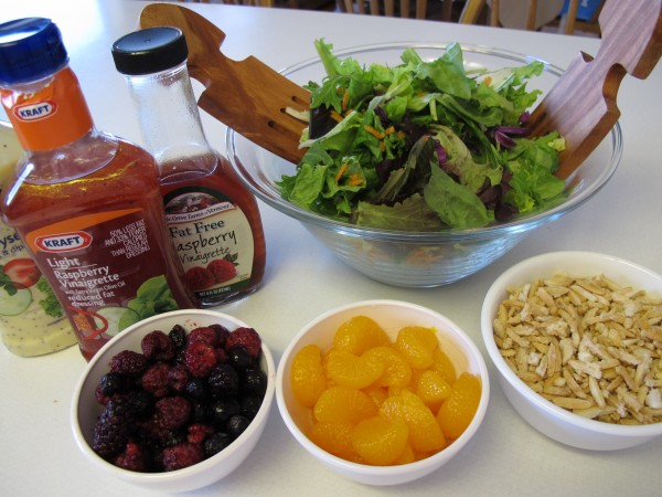 Nuts and Berries Salad