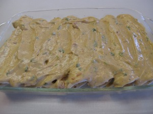 Creamy Chicken Enchiladas (1)