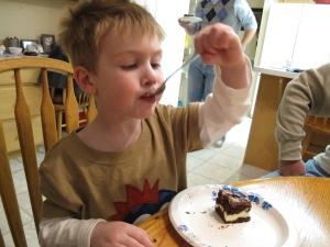 Chocolate Cream Cheese Cake (8)