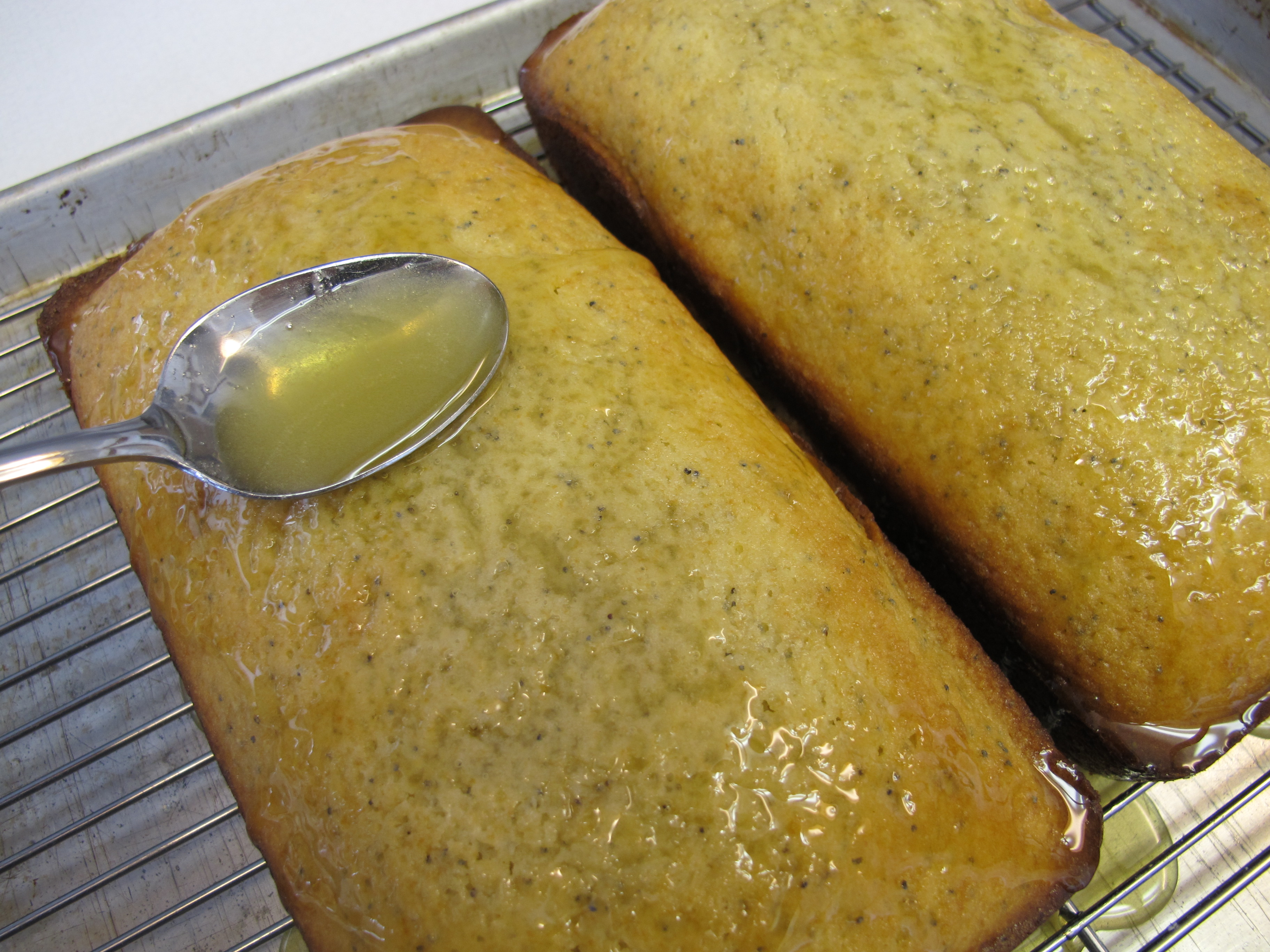 Poppyseed Bread with Orange Glaze | No Meals on Wheels