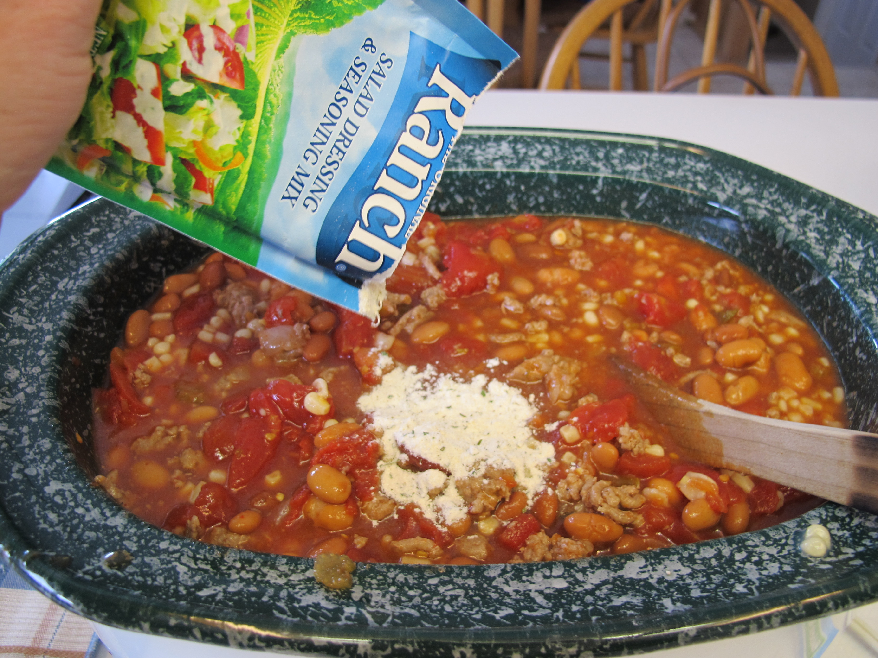 pkg taco seasoning 4 t add hidden valley dressing mix and taco soup ...