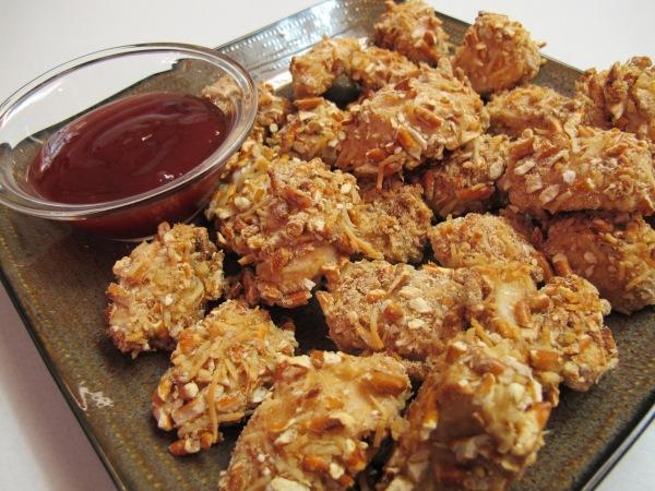 Pretzel Crusted Chicken Nuggets (1)