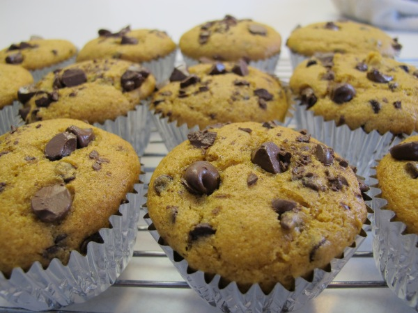 Pumpkin Chocolate Chip Bread or Muffins (17)