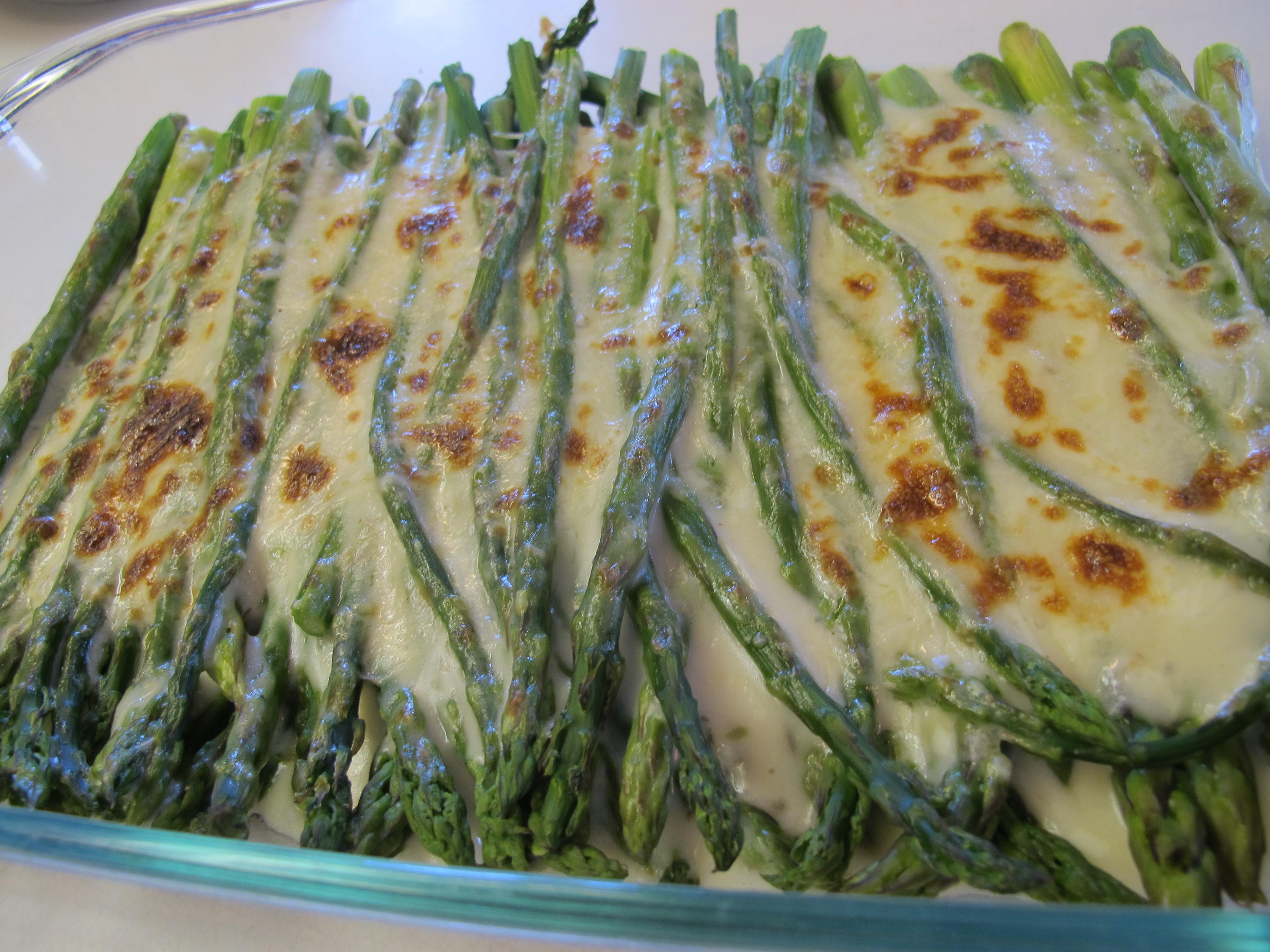 asparagus gratin asparagus gratin roast at 400 asparagus parmesan au ...
