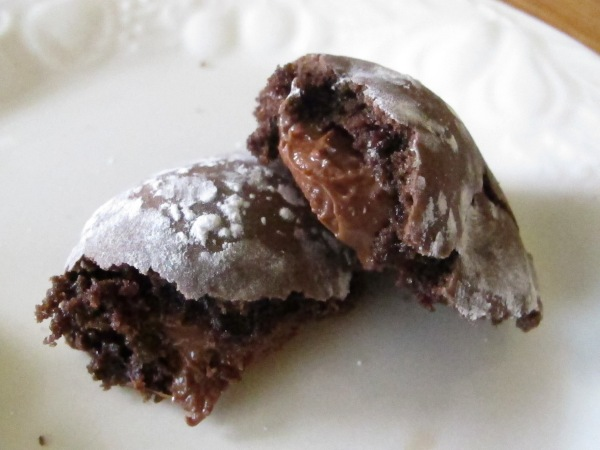Chocolate Rolo Cookies (8)