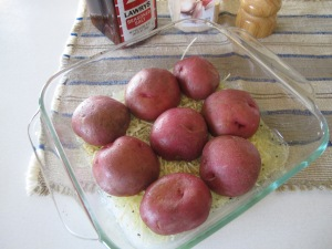 Parmesan Baked Potatoe Halves (1)