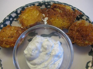 Parmesan Baked Potatoe Halves (8)