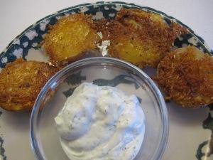 Parmesan Baked Potatoe Halves (8)