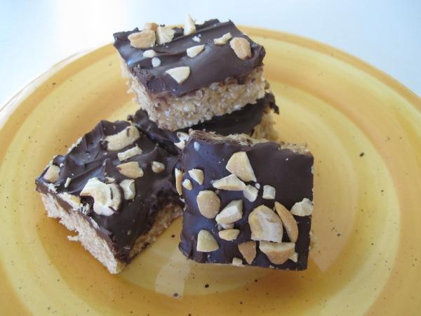 Peanut Butter Krispie Bars (1)