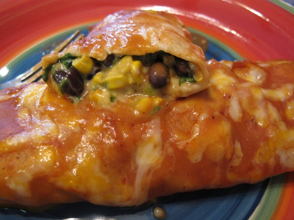 1 Black Bean Spinach Enchiladas (1)