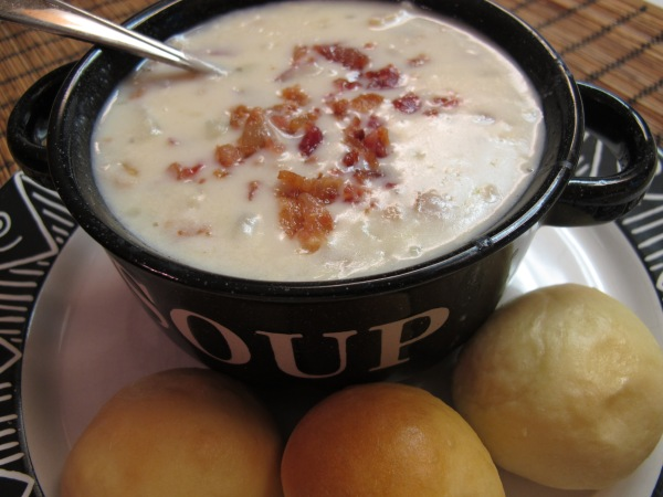1 New England Clam Chowder (2)