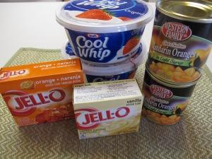 1 Fluffy Orange Jello Salad (3)
