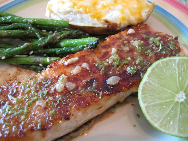 1 Honey Glazed Salmon