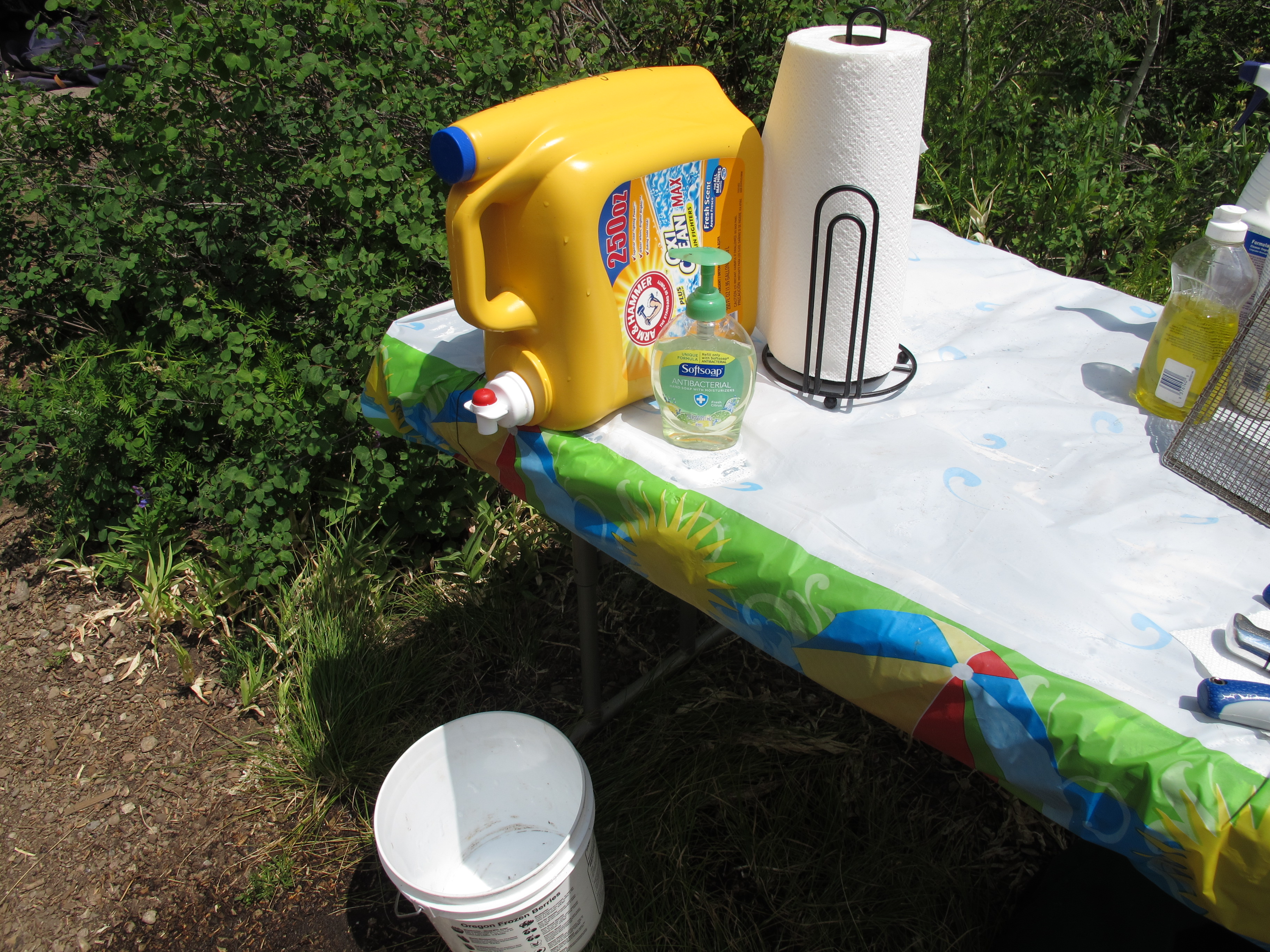 Hand Washing Station No Meals On Wheels