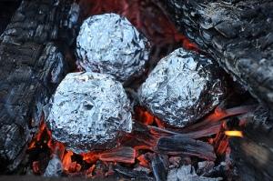 muffins in fire
