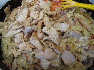 1 Farfalle with Chicken and Mushrooms (21)