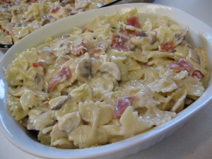 1 Farfalle with Chicken and Mushrooms (22)